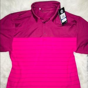 Under Armour Rosewood Collared Polo Short Sleev XL